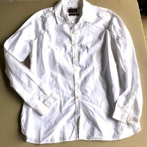 Barbour button down top size 14